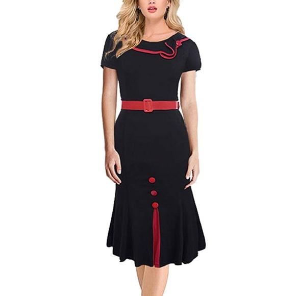 d124ac86eb933 Dresses | Vintage Style Pinup 50s Housewife Rockabilly Dress | Poshmark